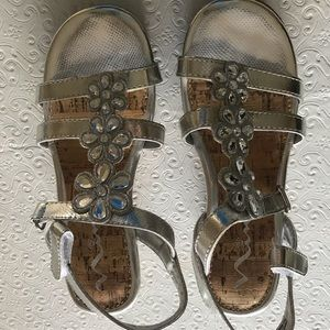 Other - Girls silver wedges